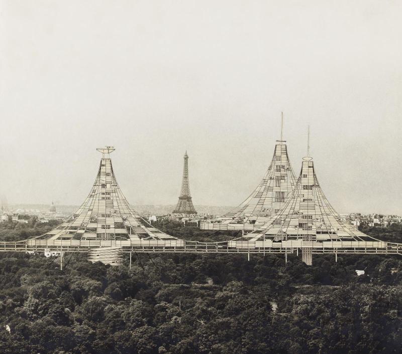 Etude extension de Paris Paul Maymont 1965