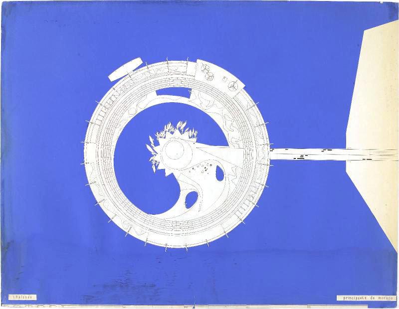 Paul Maymont Thalassa 1963 Plan