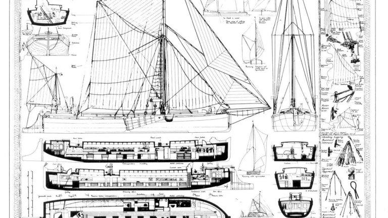 Verona, Ralph Erskine's Studio Boat