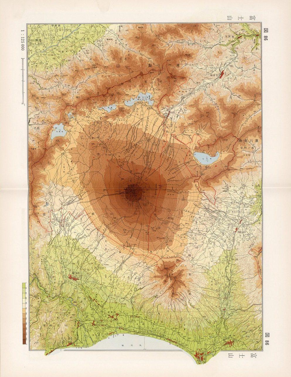 86. Mount Fuji, Tha Atlas of Japan Map