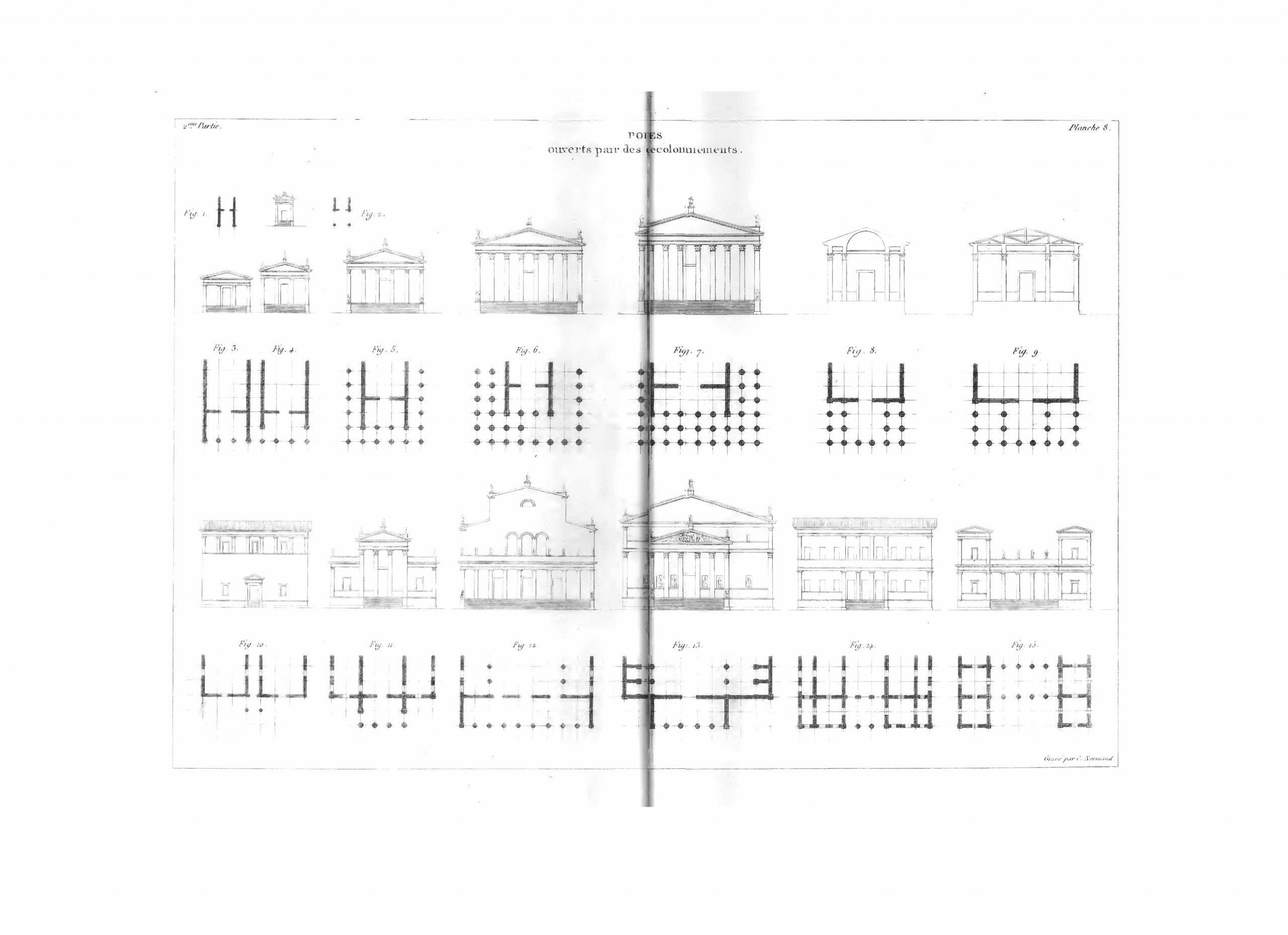 Précis des leçons d'architecture données à l'École roy