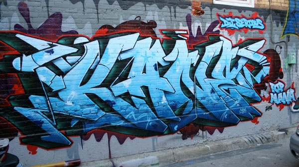 Kane Graffiti Pictures Senses Lost