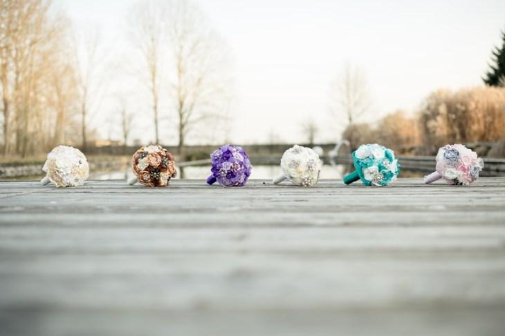 Bouquets in den unterschiedlichsten Farben