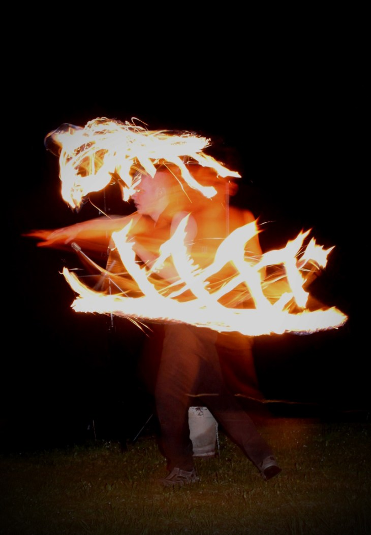 Feuervariete Feuershow Cedrus Inflamnia Hochzeit 2
