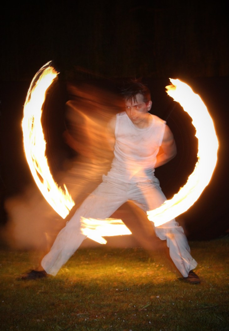 Feuervariete Feuershow Cedrus Inflamnia Hochzeit 6