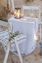 maritime Dekoration Heiratsantrag Kreta Marriage Proposal Crete Wedding Planner Hochzeitsplaner Strand Beach Georgioupoli.