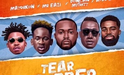 DJ Neptune Tear Rubber (All Star Remix) Ft. Mayorkun, Mr Eazi, Duncan Mighty & Afro B