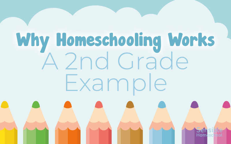 Why Homeschooling Works - A 2nd Grade Example