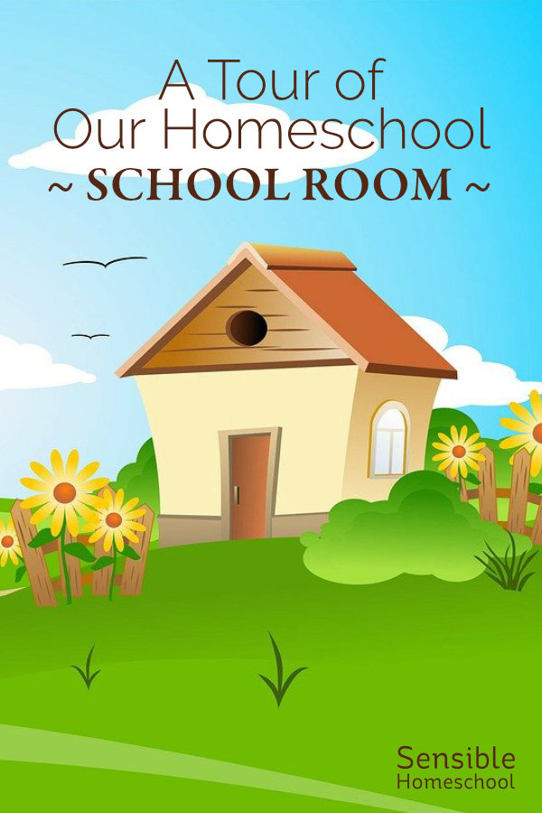 A Tour of Our Homeschool School Room