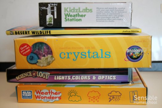 Homeschool science activity kits