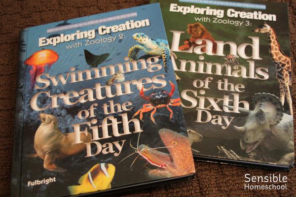 Apologia Zoology homeschool textbooks