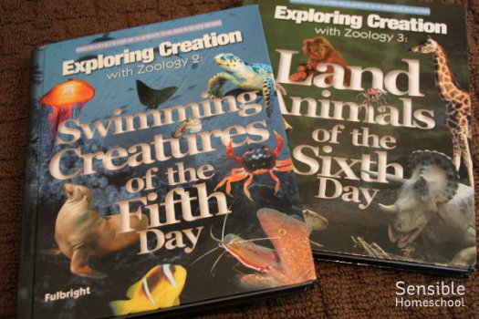 Apologia Zoology homeschool textbooks