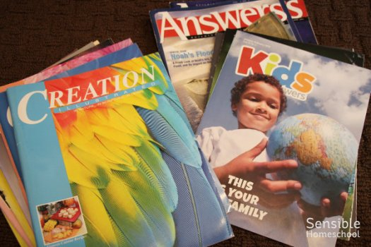 Creation and Answers science magazines