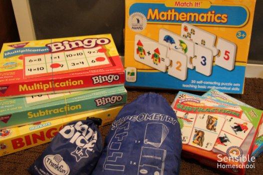 Homeschool math games