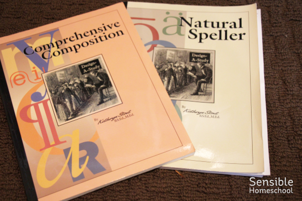 Comprehensive Composition and Natural Speller homeschool curriculum