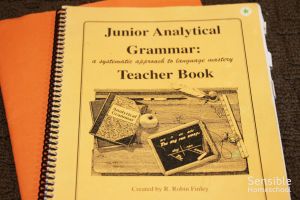 Junior Analytical Grammar homeschool curriculum