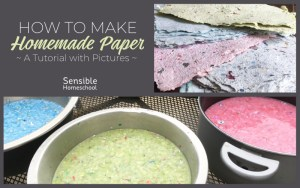 How To Make Homemade Paper: A Tutorial with Pictures