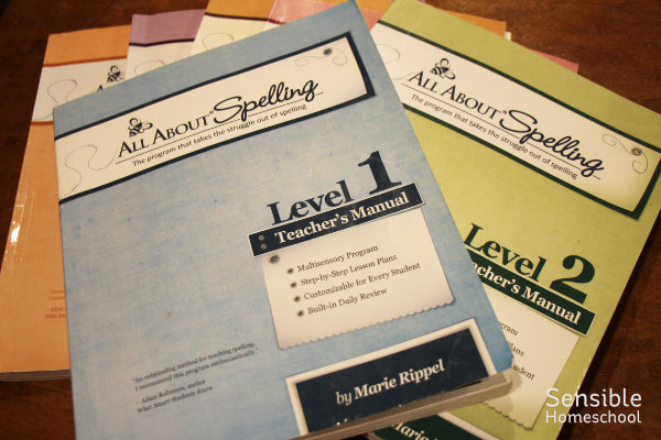 all about spelling teacher's manuals
