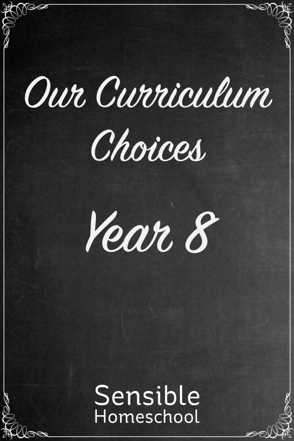 Our Curriculum Choices Year 8