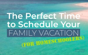 The Perfect Time to Schedule Your Family Vacation (For Homeschoolers)