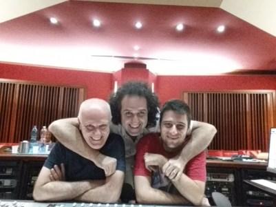 Mite Balduzzi (compositore) Emanuele Chirco (arrangiatore) Don Giulio Neroni (Produttore e Direttore Artistico (2)