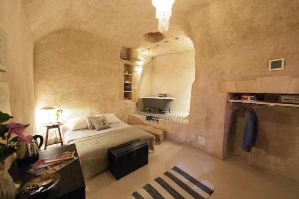 casa nella grotta Francia