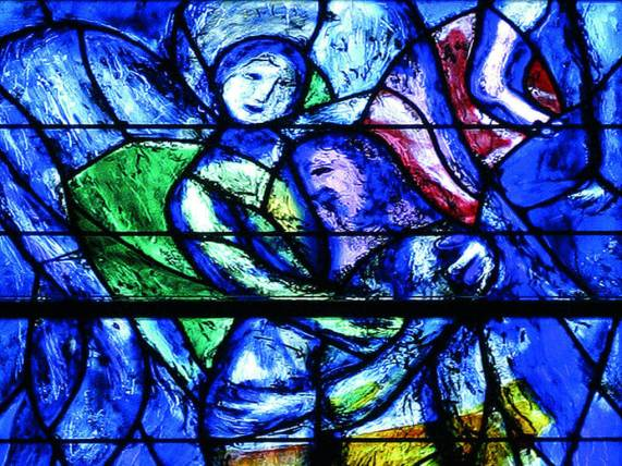 vetrate Chagall