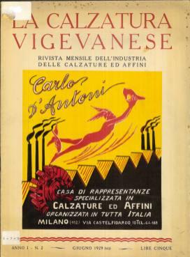 2 La Calzatura Vigevanese, rivista mensile dell'industria delle calzature e affini, giugno 1929