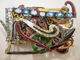 Frank Stella Materiali vari su alluminio
