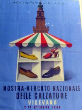 Manifesto della XI Mostra Mercato Nazionale delle Calzature 6e11bfdf56c