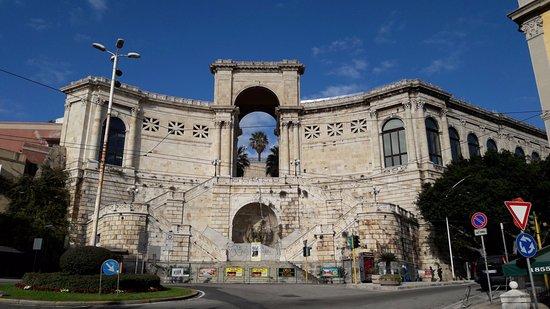 Srdegna-Cagliari- bastione Saint Remy