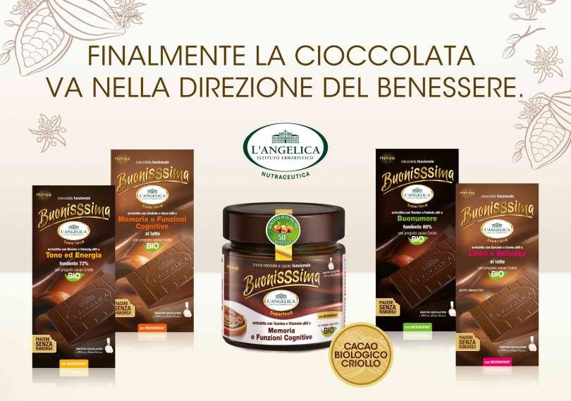 Buonissima: il cioccolato superfood che non crea rimorsi