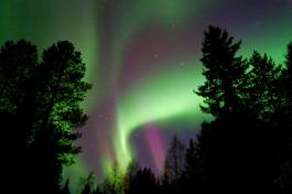 Norther lights Finland