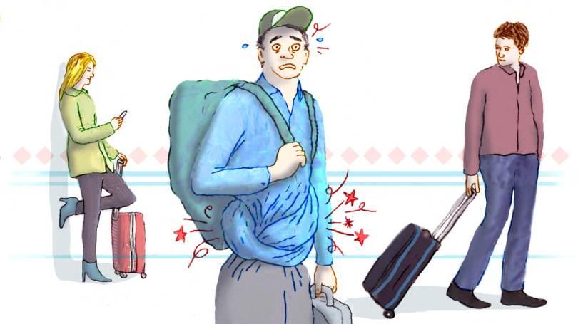 diarrea - viaggiatore