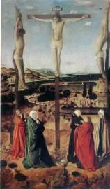 id 013. Antonello da Messina Crocifissione Muzeu National Brukenthal Sibiu
