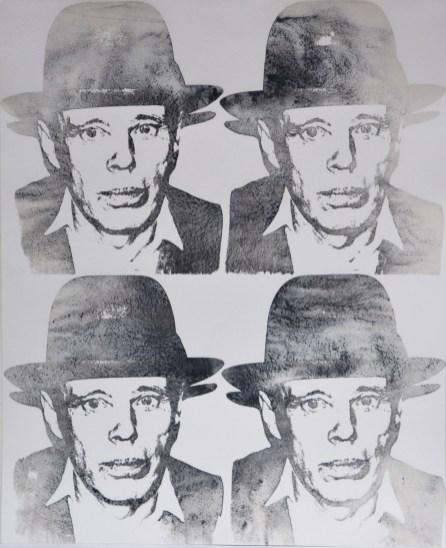 2_J Beuys, 1980-83, serigrafia su carta, 101.6x81.2