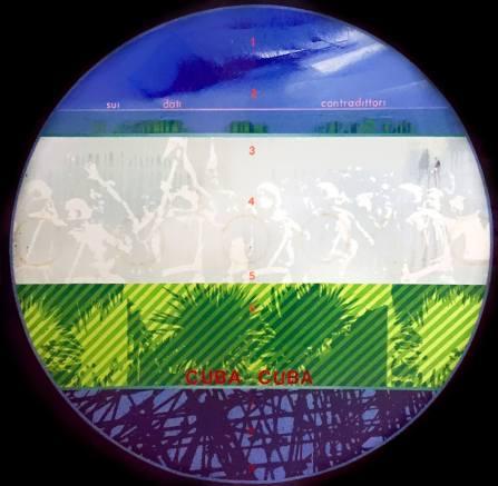 Fernando De Filippi_Cuba-Cuba_1970_acrilico su tela_cm 100x100_ph. Chiara Fasoli