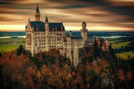 Germania, Romantische Strasse, Route 550_Castello Neuschwanstein (Pixabay)