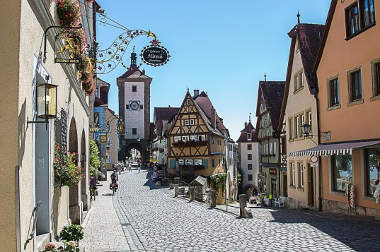 Germania, Romantische Strasse, Route 550_Rothenburg 2 (Pixabay)