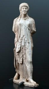 1_Artemide marciante, inv. 568647, ignoto, fineI-inizi I sec. d.C., marmo, Museo nazionale Romano, Palazzo Massimo, Roma 1_800