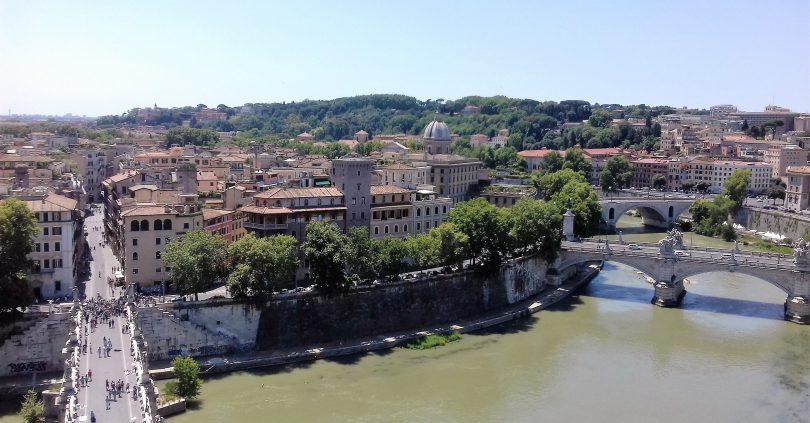 Bulgari, la storia, il sogno_Castel Sant'Angelo, veduta Lungotevere_ph Lara Congiu