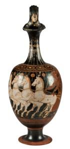 Oinochoe a bocca trilobata, ceramica apula a figure rosse, Inv. 1240080, 330-300 a.C., SABAP-RM-MET_800