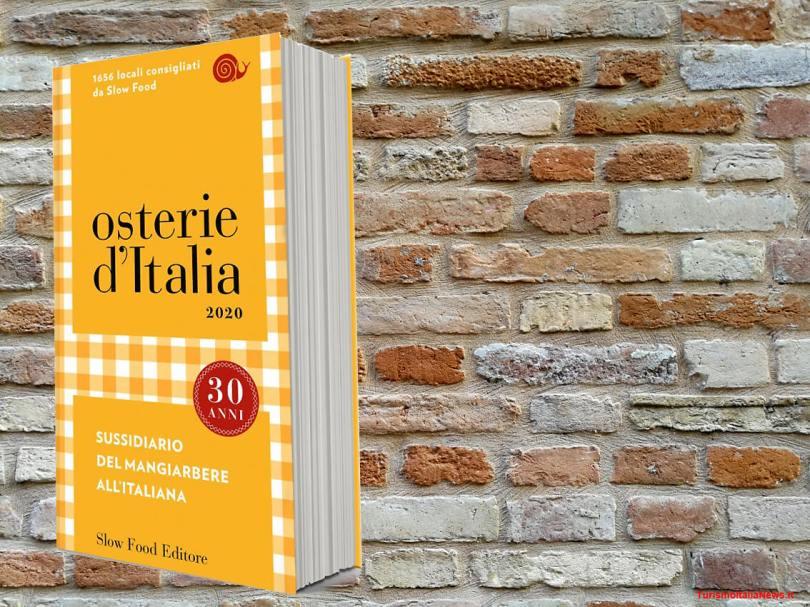 """Compie 30 anni la nuova guida di """"Osterie d'Italia"""" edizione 2020"""