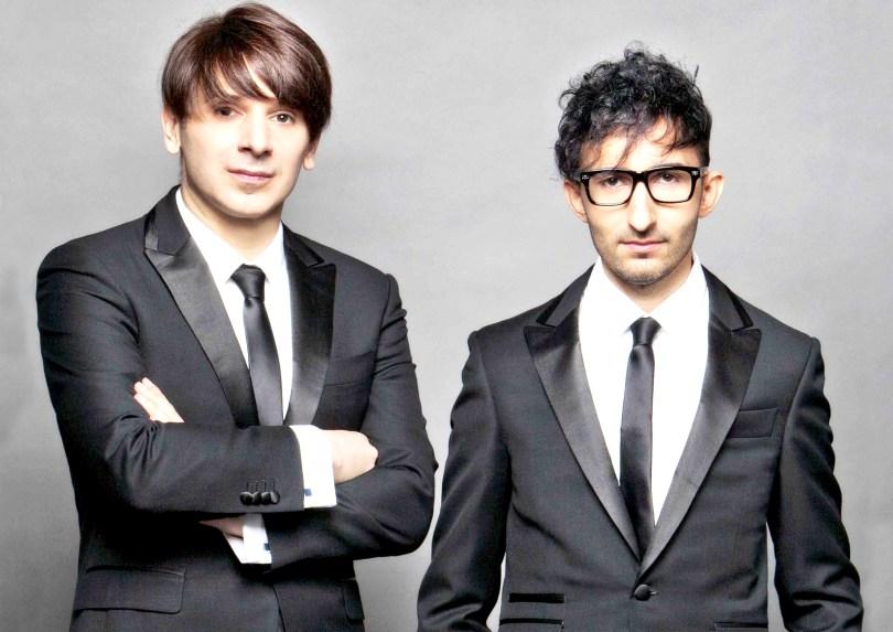 Il duo creativo Premoli e Di Bella, rende glamour la tavola di Natale