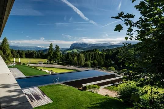 Hotel Pfösl: vacanza detox con vista sulle Dolomiti