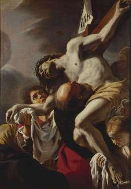 14. Mattia Preti, Deposizione di Cristo dalla croce