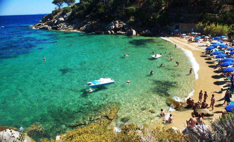Scoprire l'Isola del Giglio_spiaggia_caldane
