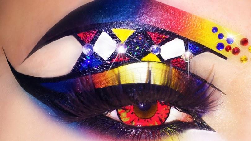 Carnevale. Un make up che prende spunto dalle maschere