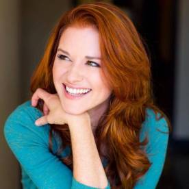 Sarah Drew - red copper