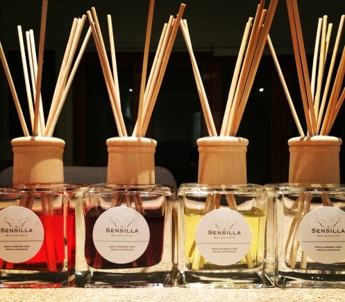 Sensilla Candles Signature Diffusers